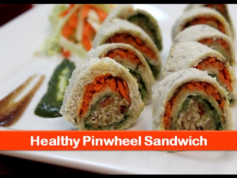 Healthy Pinwheel Sandwich Recipe Indian Breakfast Recipes Veg Bread
