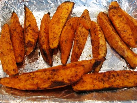 How to make baked sweet potato in the oven