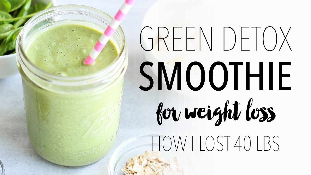 green detox smoothie recipe for weight loss easy healthy breakfast idea dr health magazine. Black Bedroom Furniture Sets. Home Design Ideas